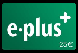 e plus 25 euro aufladen online