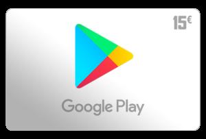 google play guthaben 15 euro aufladen online