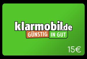 klarmobil 15 euro aufladen online