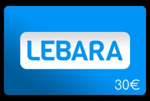lebara 30 euro aufladen online