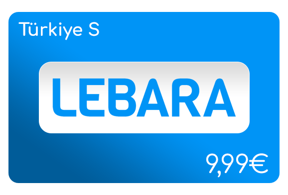 lebara türkiye s flat aufladen online