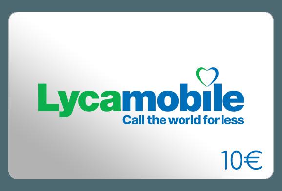 lycamobile 10 euro aufladen online